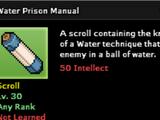 Water Prison Technique