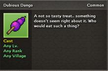 Dubious Dango