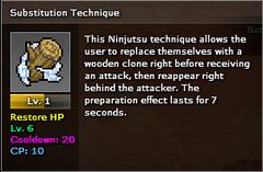Substitution Technique Scroll Minimum Level Infobox