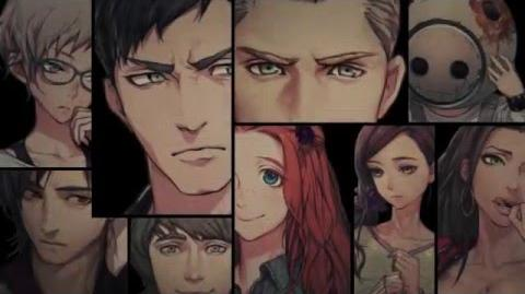 PS Vita 3DS ZERO ESCAPE 刻のジレンマ キャラクタートレーラー