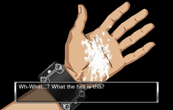 Sigma's hand