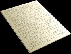 Braille letter