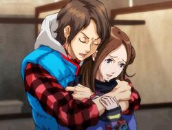 Junpei conforts june
