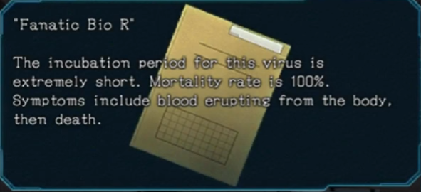 Fanatic Bio R | Zero Escape Wiki | FANDOM powered by Wikia