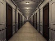C Deck hallway