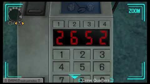Zero Escape- Virtue's Last Reward - Crew Quarters ALL Secret Numbers -December 2017-