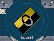 0 Key Card