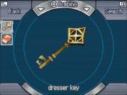 2nd dresser key