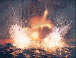 Gigantic explosion