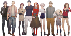 ZTD cast transparent