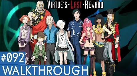 Zero Escape Virtue's Last Reward PS Vita Walkthrough Part 92 (Phi True End Part 1)