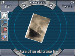Picture of an old cruise liner
