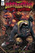 TMNT Bebop & Rocksteady Destroy Everything! Vol 1 1 RE Anastasia's Collectibles Variant