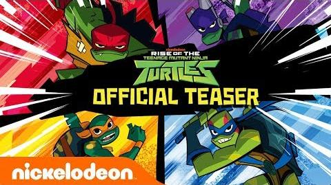 Rise of The Teenage Mutant Ninja Turtles!! 🐢 NEW Series Official Teaser Nick