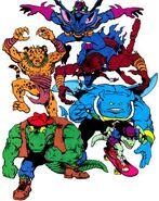 Mighty Mutanimals (Archie)