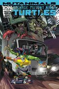 TMNT Mutanimals Vol 1 1 SUB Variant