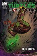TMNT Ghostbusters Vol 1 2 RE Hot Topic Variant