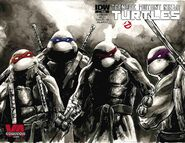TMNT Ghostbusters Vol 1 1 RE VA Comicon RED Variant
