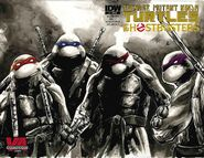 TMNT Ghostbusters Vol 1 1 RE VA Comicon GOLD Variant