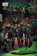 TMNT Ghostbusters Vol 1 4 SUB Variant