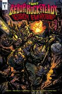 TMNT Bebop & Rocksteady Destroy Everything! Vol 1 1 RI Variant