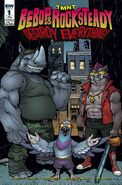 TMNT Bebop & Rocksteady Destroy Everything! Vol 1 1 RE IDW Convention Exclusive Variant