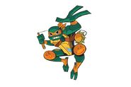 Michelangelo (Rise of TMNT) Promo 1