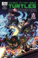 TMNT Ghostbusters Vol 1 1 RE Awesome Con Variant