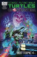 TMNT Ghostbusters Vol 1 1 RE Hot Topic Variant
