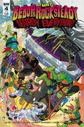 TMNT Bebop & Rocksteady Destroy Everything! Vol 1 4 SUB Variant