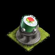 Sushi shrine lvl 2 ample