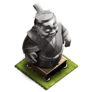 Training statue lvl 2 stone
