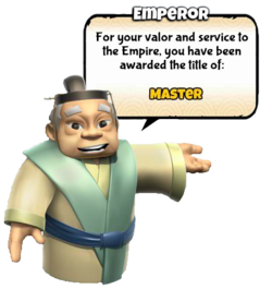 Master title