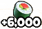 6ksushi icon quest task reward