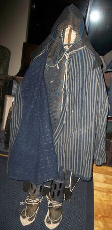 Gappa travel cape and zunin with kusari armor