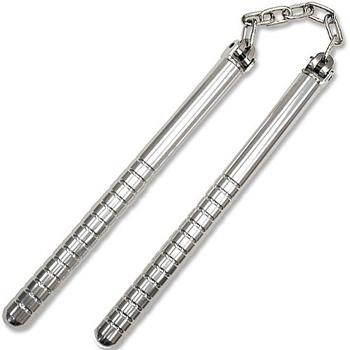 File:Stainless steel nunchucks 1.jpg