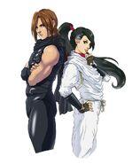 Ryu and Momiji