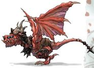 NG2 Art Enemy Dragon Demon