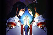 Dragon shrine maidens