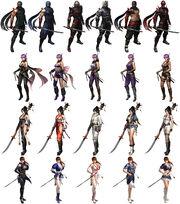 NG3-RE Costumes