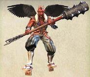 NG2 Render Boss Tengu Red