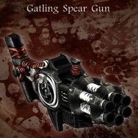 Gatlingspeargun