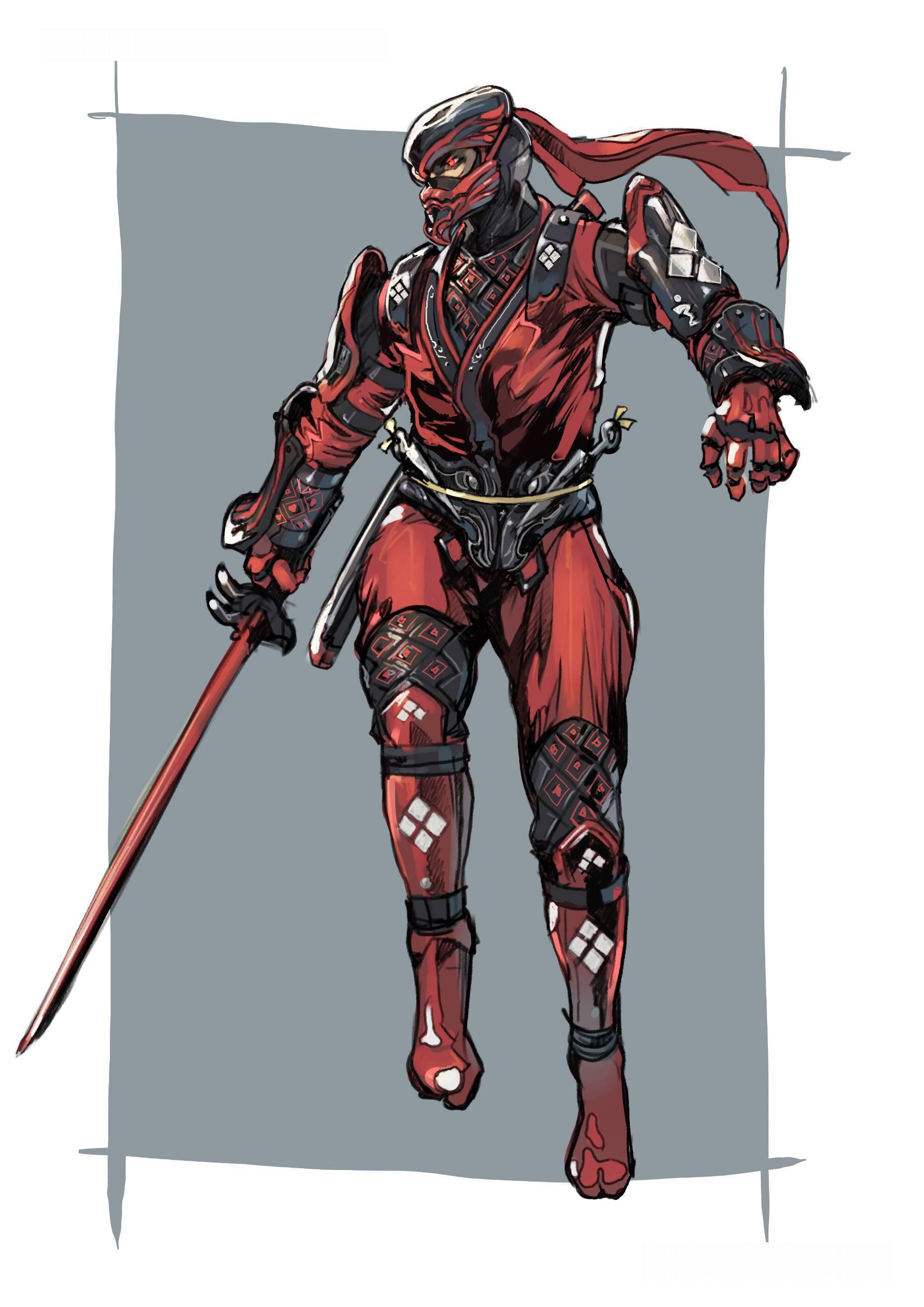 Image - NG2 Art Char Ryu Costume 2 ShadowWalker A.jpg | Ninja Gaiden ...
