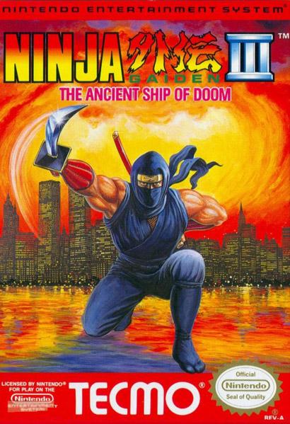 Ninja Gaiden Iii The Ancient Ship Of Doom Ninja Gaiden Wiki