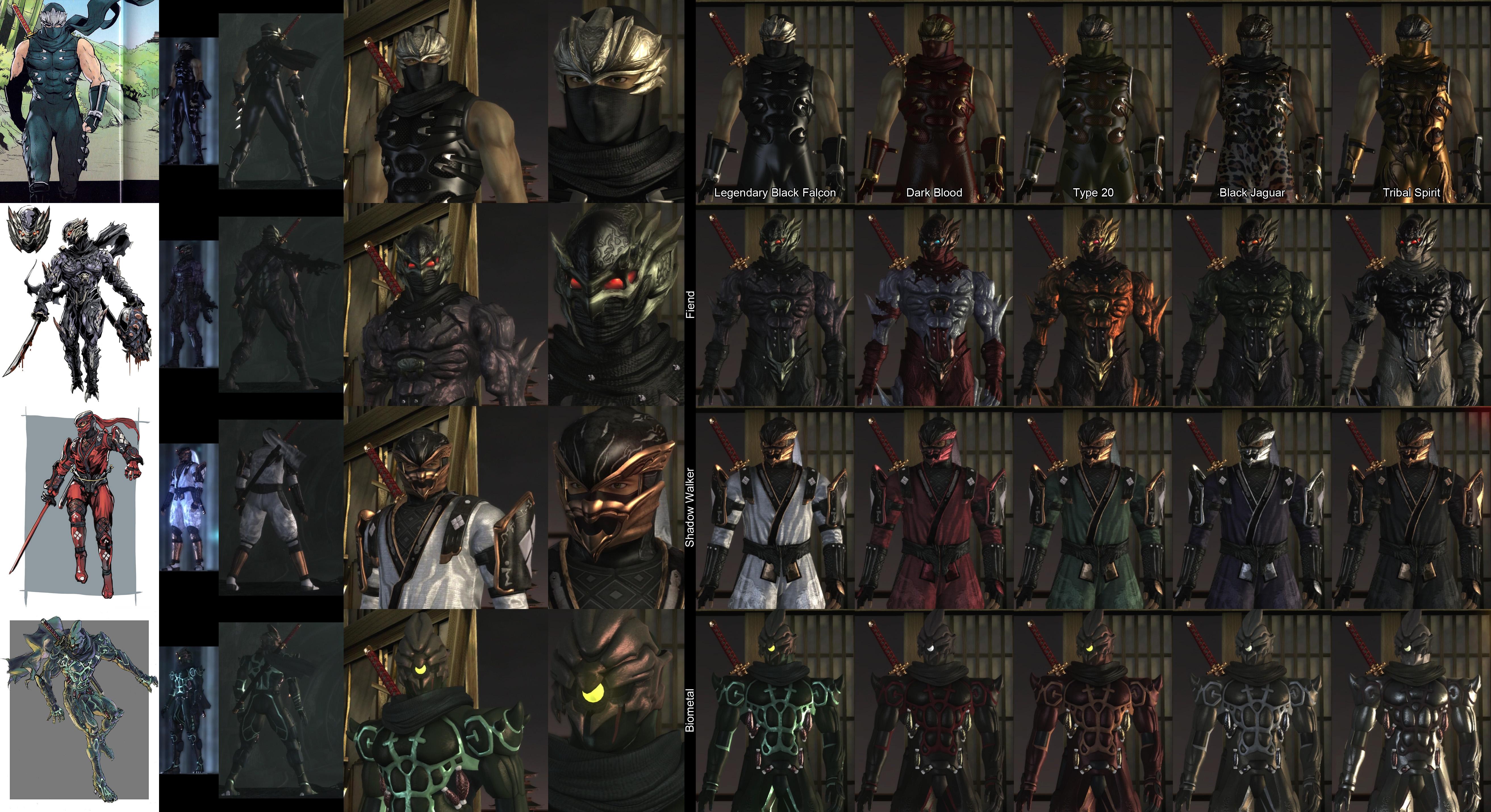 Costumes | Ninja Gaiden Wiki | FANDOM powered by Wikia