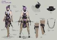 NG2 2S Art Char Ayane Costume DLC2