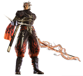 Ninja Gaiden II Genshin Render PNG