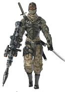 NG2 Art Enemy Ninja Tactical Ranged