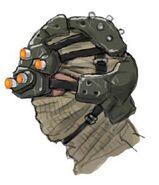 NG2 Art Enemy Ninja Tactical Head