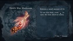 NG2S Items Devils Way Mushroom
